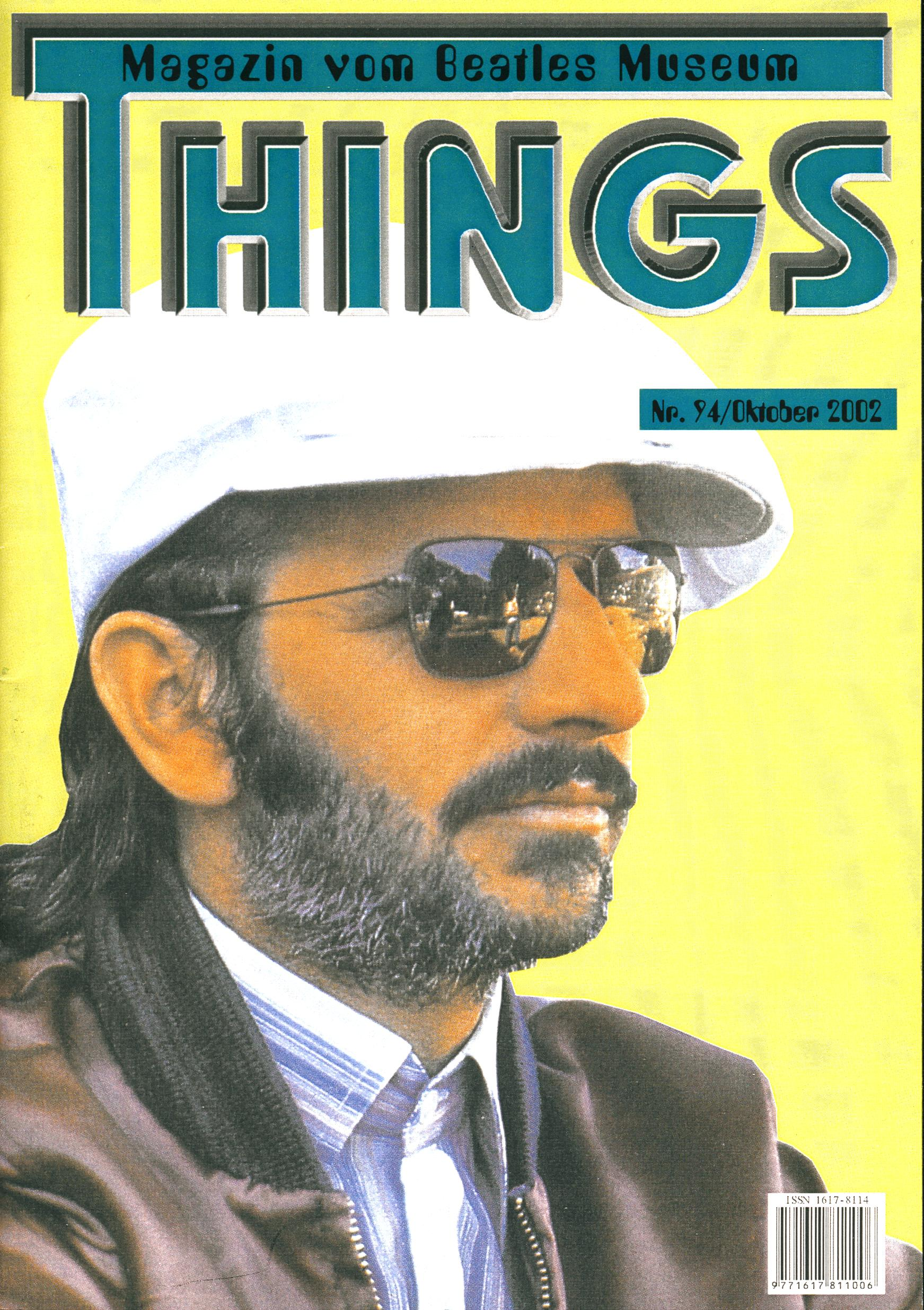 BEATLES: Fan-Magazin THINGS 94