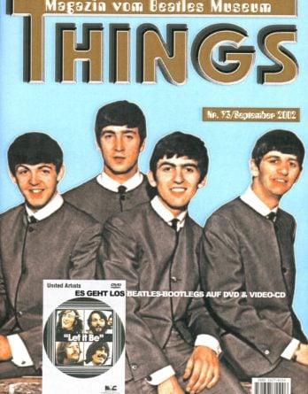BEATLES: Fan-Magazin THINGS 93