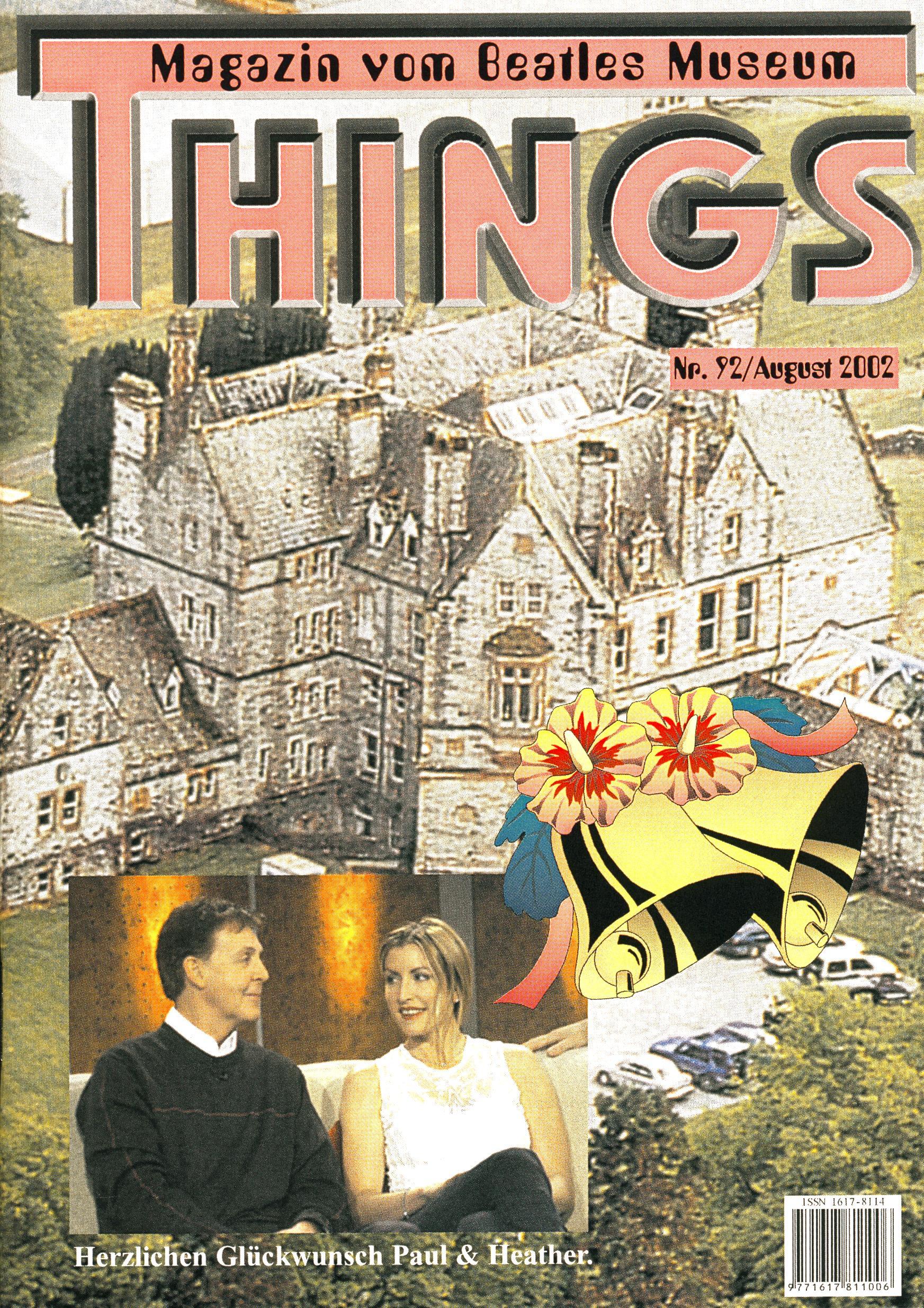 BEATLES: Fan-Magazin THINGS 92