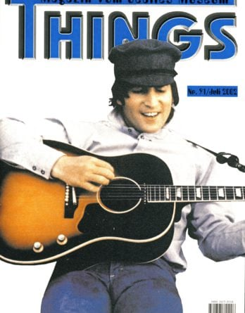 BEATLES: Fan-Magazin THINGS 91