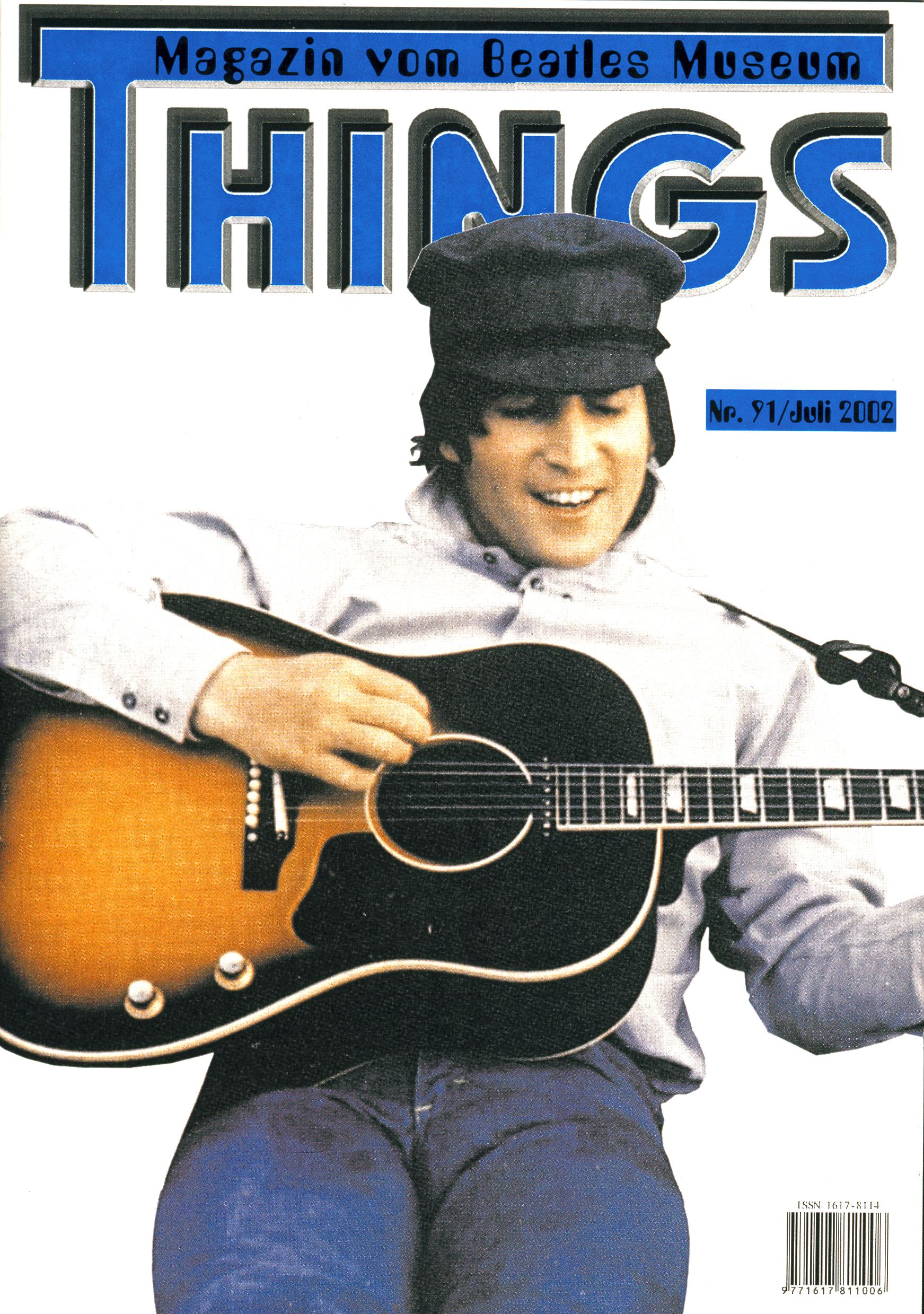BEATLES: Fan-Magazin THINGS 91