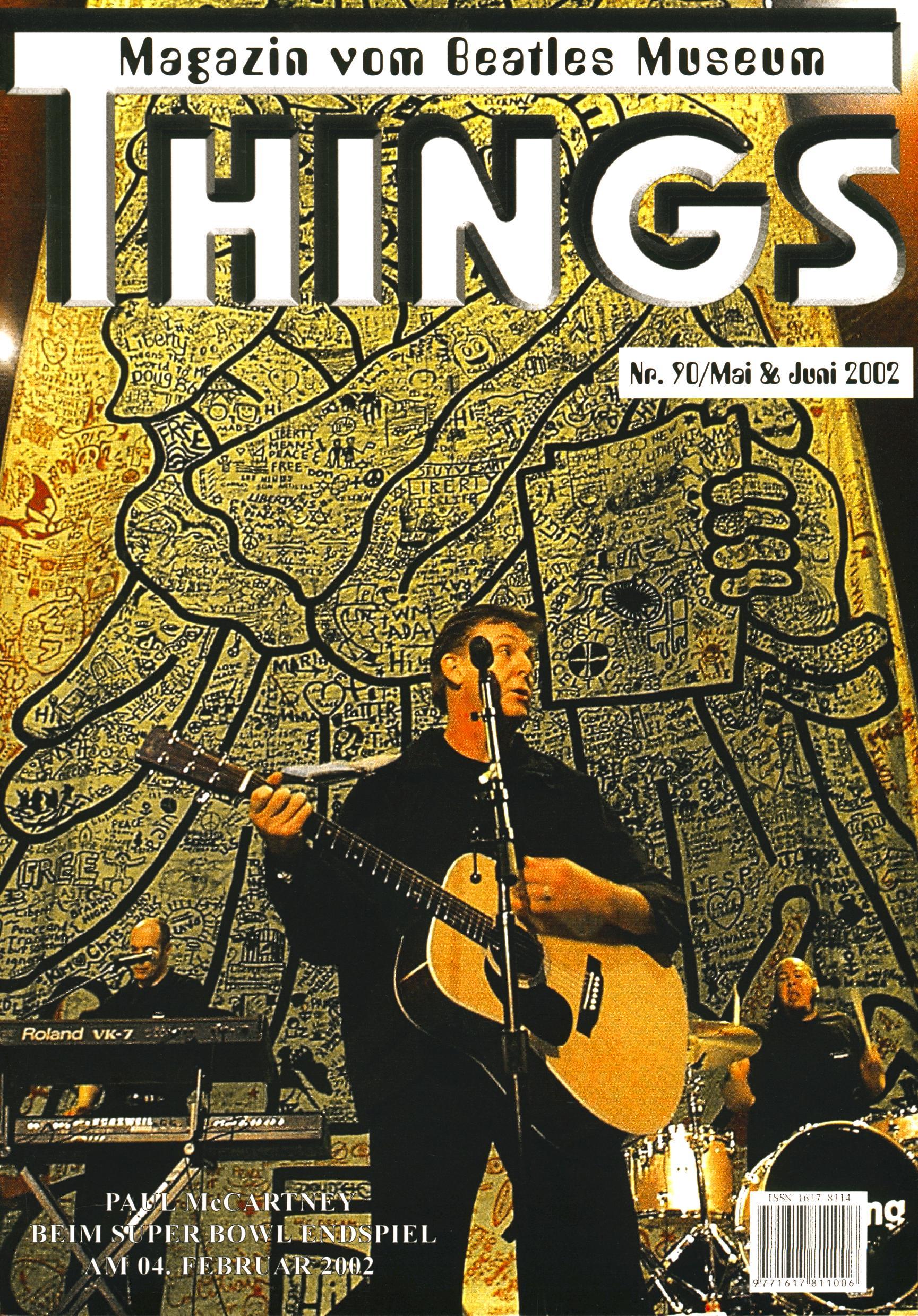 BEATLES: Fan-Magazin THINGS 90