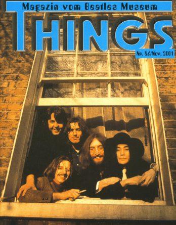 BEATLES: Fan-Magazin THINGS 86