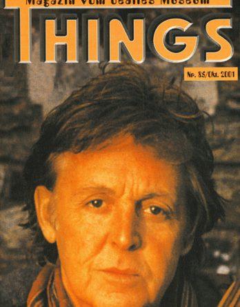 BEATLES: Fan-Magazin THINGS 85