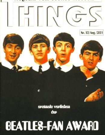 BEATLES: Fan-Magazin THINGS 83