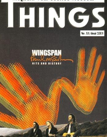 BEATLES: Fan-Magazin THINGS 81