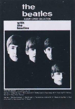 Postkarte Album Cover WITH THE BEATLES