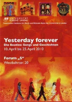 BEATLES: Buch YESTERDAY FOREVER