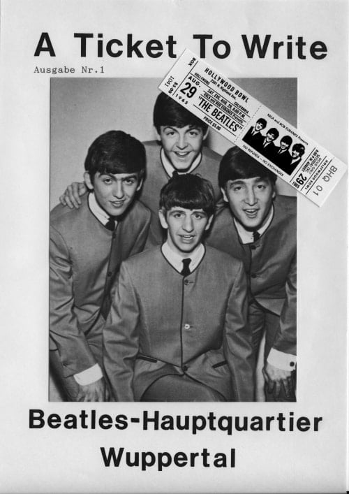 BEATLES: Fan-Magazin A TICKET TO WRITE 1