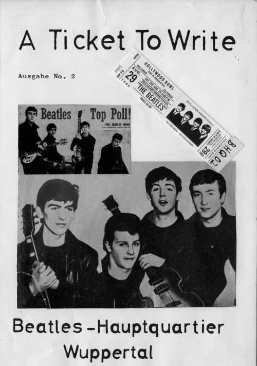 BEATLES: Fan-Magazin A TICKET TO WRITE 2