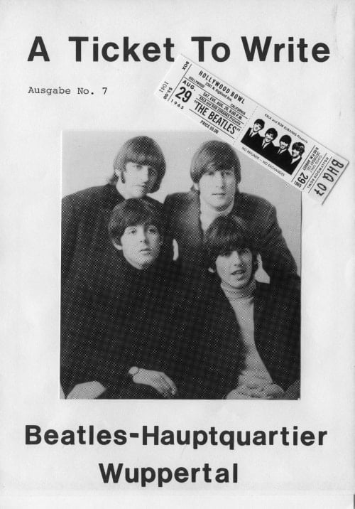 BEATLES: Fan-Magazin A TICKET TO WRITE 7