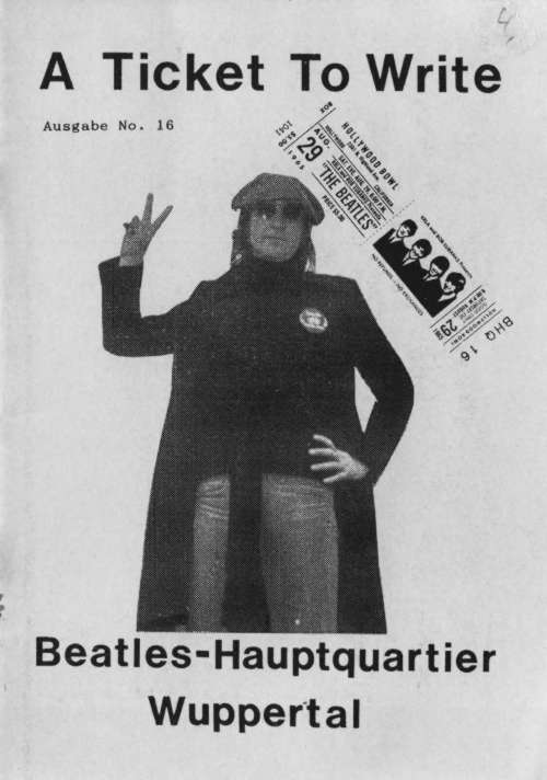 BEATLES: Fan-Magazin A TICKET TO WRITE 16