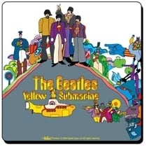 Beatles Untersetzer LP Cover YELLOW SUBMARINE