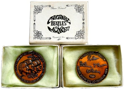 Souvenir-Münze BRAVO BEATLES BLITZTOURNEE