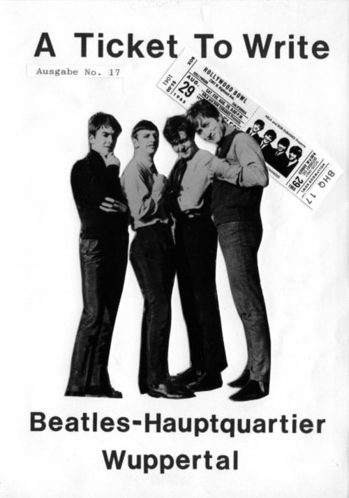 BEATLES: Fan-Magazin A TICKET TO WRITE 17