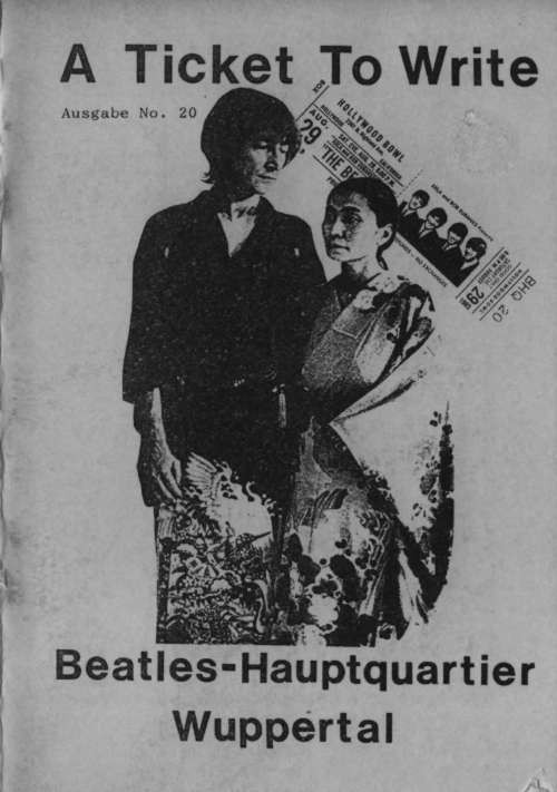BEATLES: Fan-Magazin A TICKET TO WRITE 20