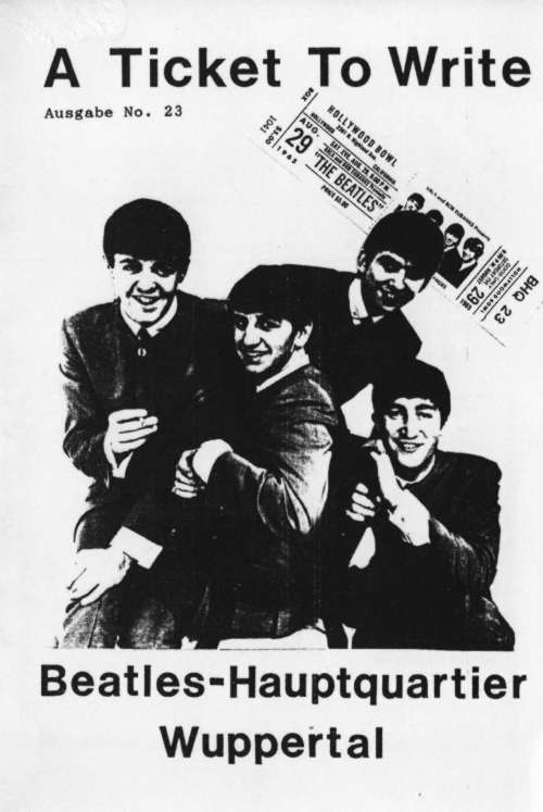 BEATLES: Fan-Magazin A TICKET TO WRITE 23