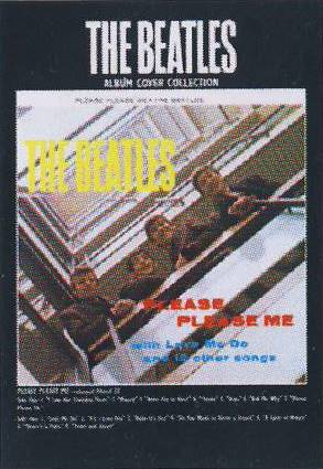 Postkarte Album Cover PLEASE PLEASE ME