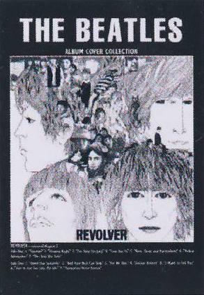 Postkarte Album Cover REVOLVER