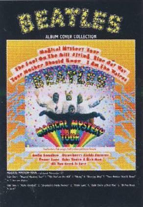 Postkarte Album Cover MAGICL MYSTERY TOUR