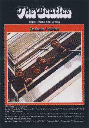 Postkarte Album Cover THE BEATLES 1962-1966