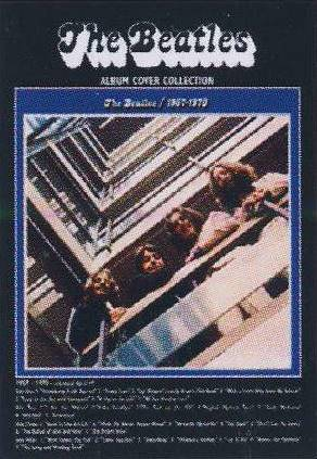 Postkarte Album Cover THE BEATLES 1967-1970
