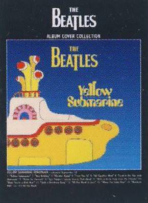 Postkarte Album Cover YELLOW SUBMARINE SONGTRACK