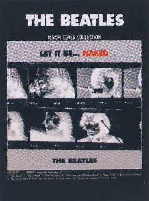 Postkarte Album Cover LET IT BE...NAKED