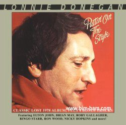 LONNIE DONEGAN: CD PUTTIN ON THE STYLE mit RINGO STARR