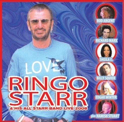 RINGO STARR: CD RINGO & HIS ALL STARR BAND LIVE 2006