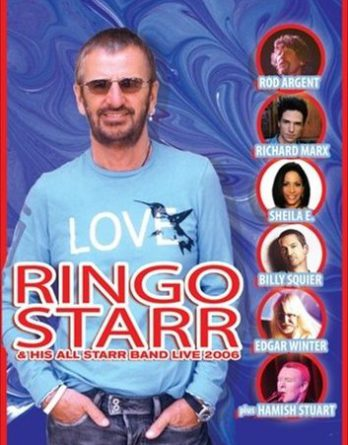 RINGO STARR: DVD RINGO AND HIS ALL STARR BAND 2006