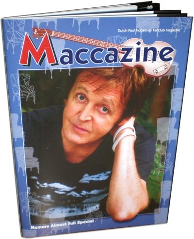 McCARTNEY: Fan-Magazin MEMORY ALMOST FULL SPECIAL