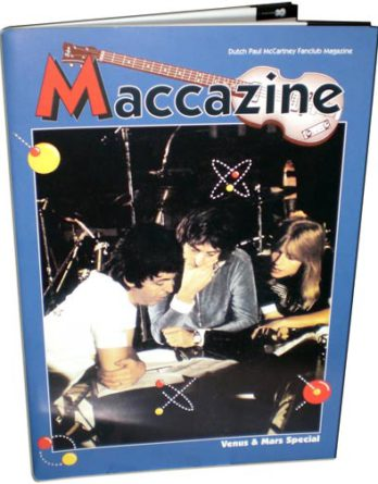 McCARTNEY: Fan-Magazin VENUS AND MARS SPECIAL