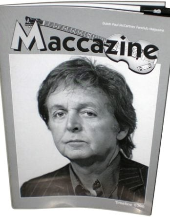 Magazin MACCAZINE - PAUL McCARTNEY TIMELINE 2006