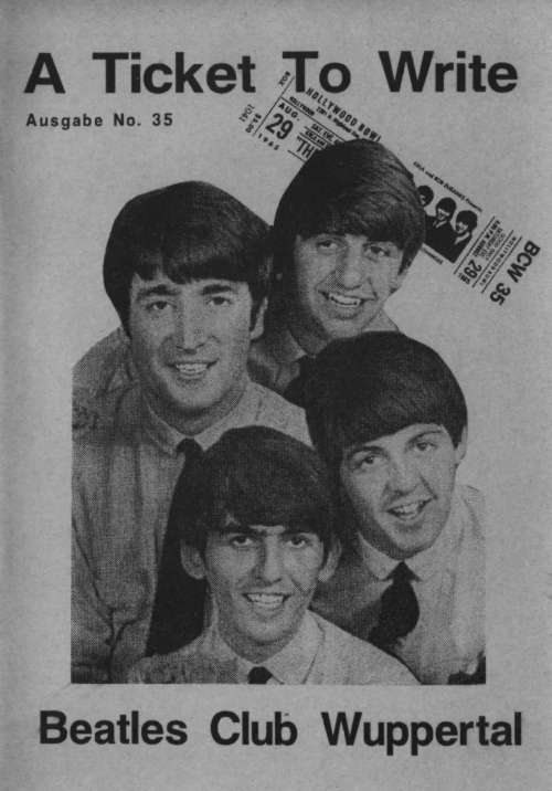 BEATLES: Fan-Magazin A TICKET TO WRITE 35