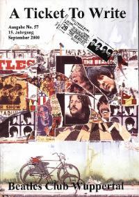 BEATLES: Fan-Magazin A TICKET TO WRITE 57 (Replikat)