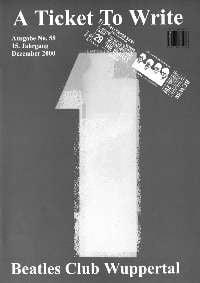 BEATLES: Fan-Magazin A TICKET TO WRITE 58