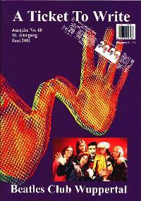 BEATLES: Fan-Magazin A TICKET TO WRITE 60