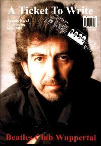 BEATLES: Fan-Magazin A TICKET TO WRITE 63