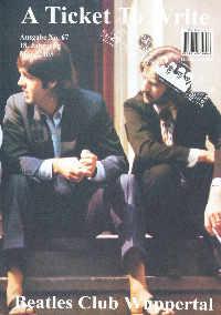BEATLES: Fan-Magazin A TICKET TO WRITE 67