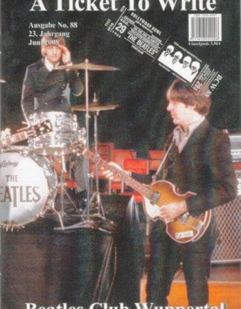 BEATLES: Fan-Magazin A TICKET TO WRITE 88