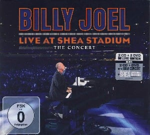 BILLY JOEL & PAUL McCARTNEY: Box (CD & DVD) LIVE AT SHEA STADIUM