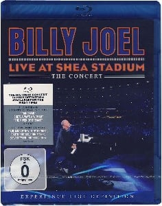BILLY JOEL & PAUL McCARTNEY: Blu-ray Disc LIVE AT SHEA STAD