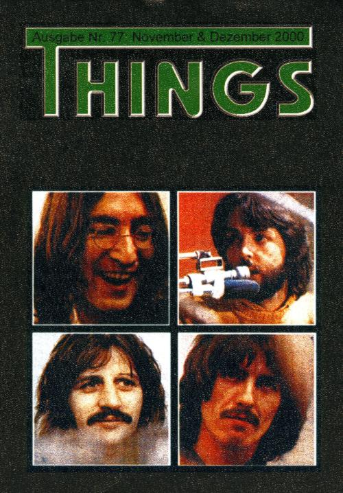 BEATLES: Fan-Magazin THINGS 77