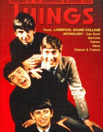 BEATLES: Fan-Magazin THINGS 76