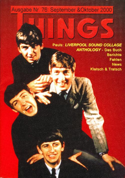 BEATLES: Fan-Magazin THINGS 76