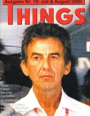 BEATLES: Fan-Magazin THINGS 75