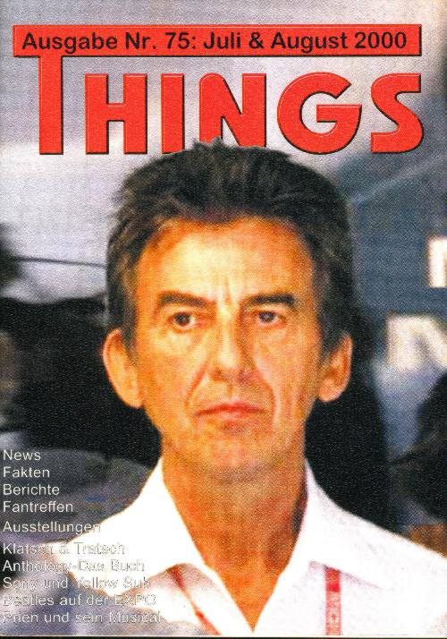 BEATLES: Fan-Magazin THINGS 75