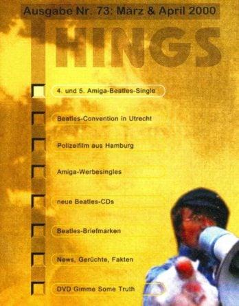 BEATLES: Fan-Magazin THINGS 73