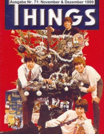 BEATLES: Fan-Magazin THINGS 71